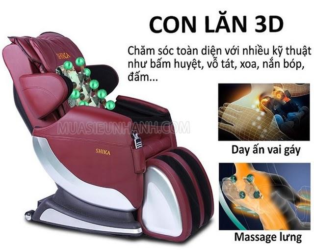 ghế massage shika tốt không