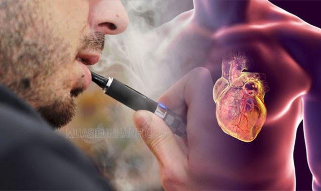 tác hại của hút vape