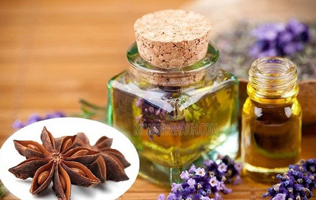 sử dụng tinh dầu thơm