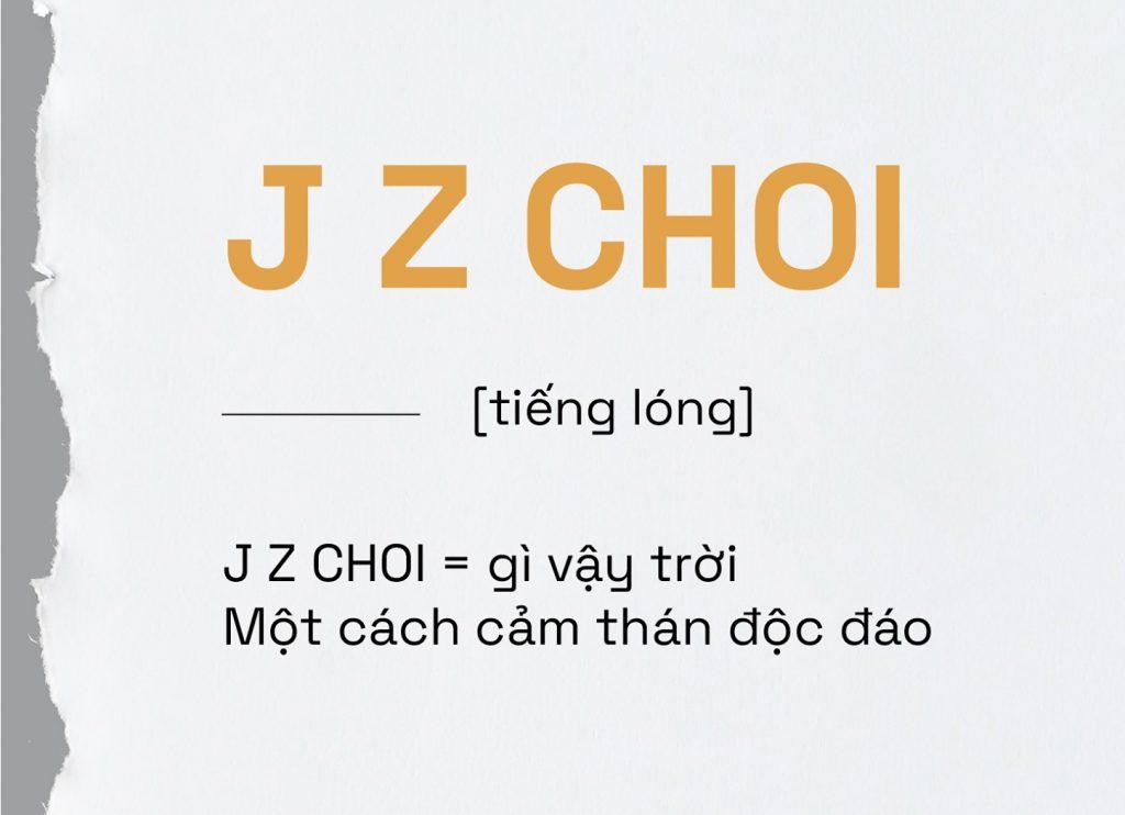 từ điển dành riêng cho Gen Z