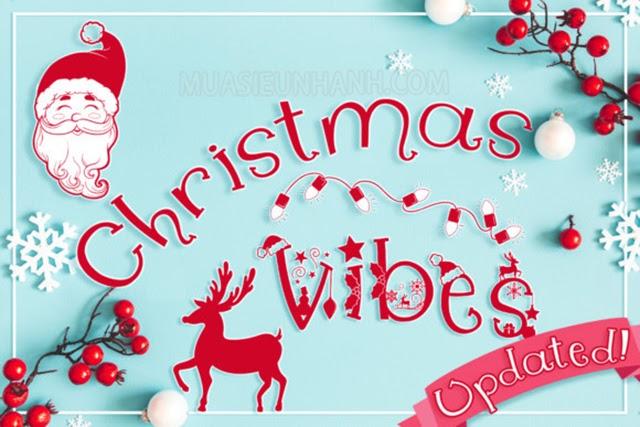 Christmas vibes - cảm xúc háo hức đón chào mùa giáng sinh đang tới