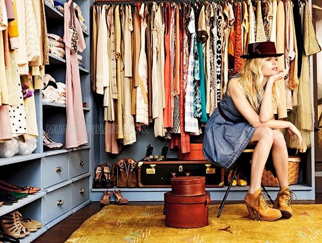 Không cần phải chạy theo mốt, bạn chỉ cần biết cách F5 tủ quần áo của mình là được