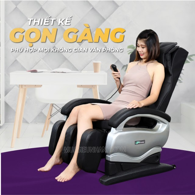 ghế massage giá rẻ dưới 10 triệu ELIP Faraday thư giãn toàn thân