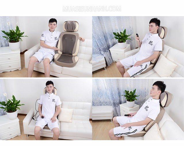 Ghế massage Puli PL 887 có giá hơn 4 triệu đồng.