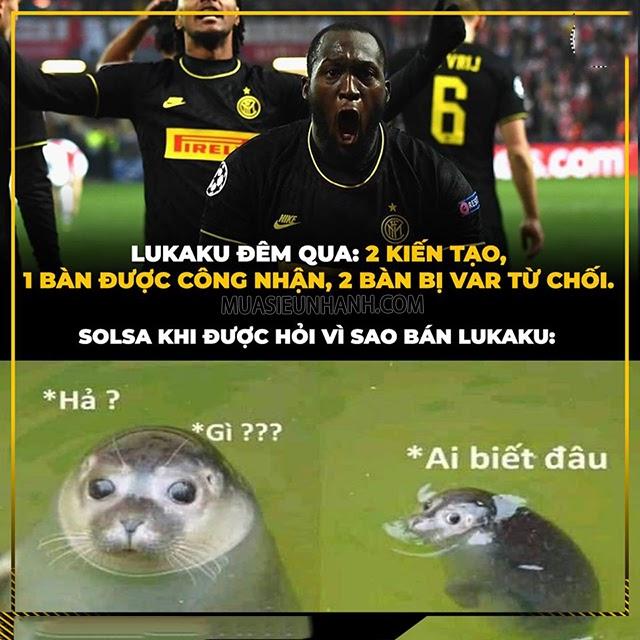 Bức ảnh được đăng tải trên trang troll bóng đá