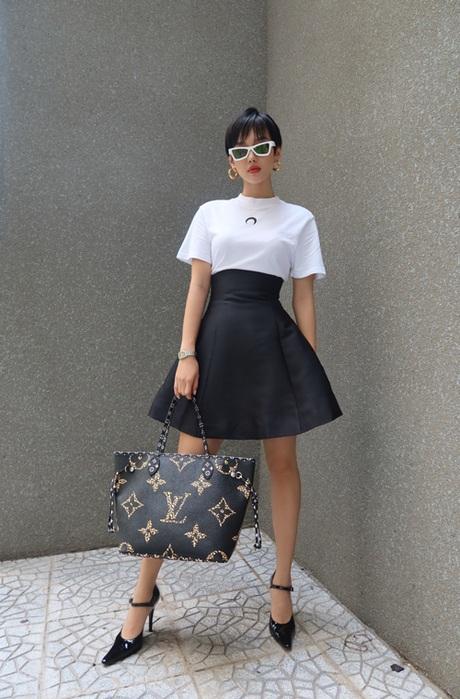 fashionista ha thanh khanh linh