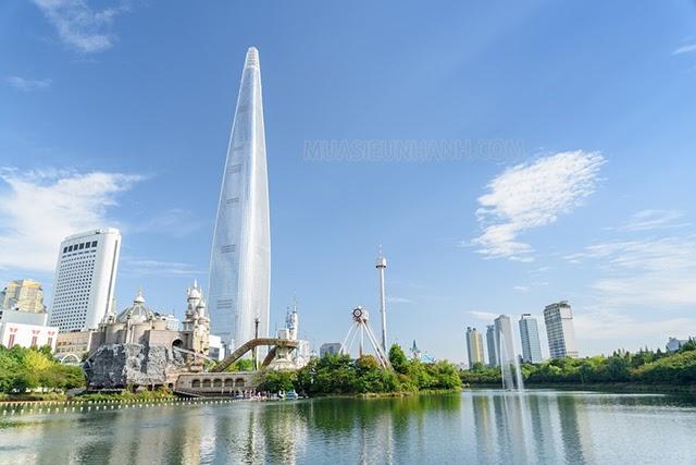 Lotte World Tower là tòa nhà cao nhất Hàn Quốc