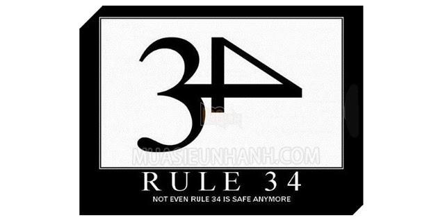 Rule 34 xuất hiện nhiều biến thể trên mạng xã hội