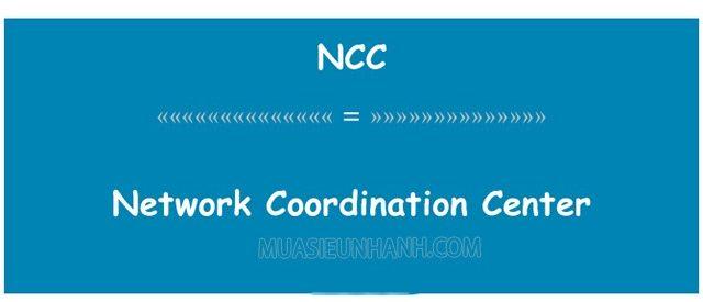 Trong tin học, NCC là viết tắt của từ Network Control Center