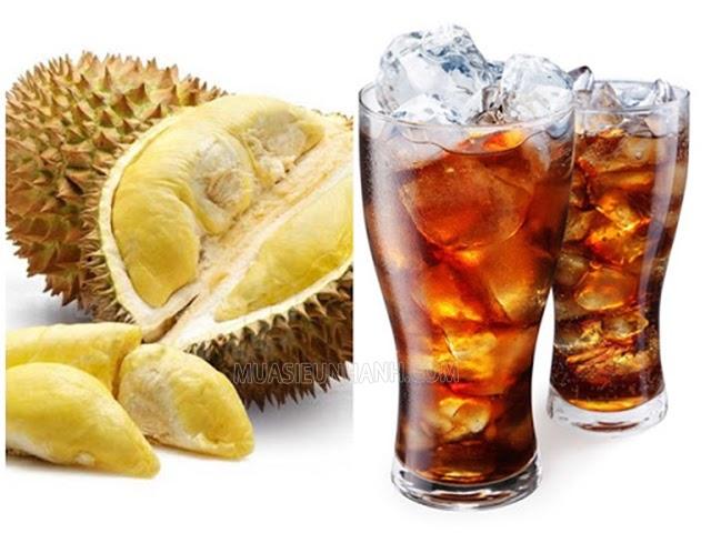 sầu riêng ăn với gì bị ngộ độc