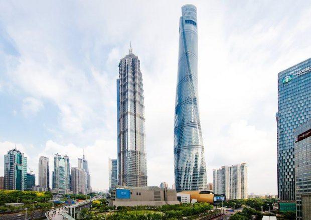 tòa tháp thượng hải trung quốc