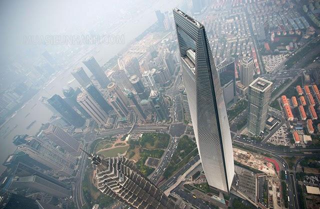 Trung tâm tài chính Thượng Hải cao 492m