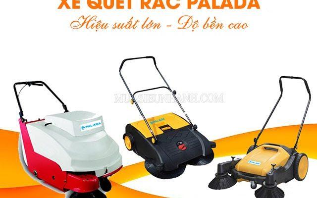 Xe quét rác Palada đa dạng mẫu mã