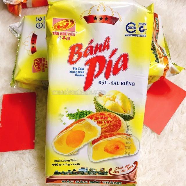 Bánh pía Tân Huê Viên là đặc sản nổi tiếng nhất sóc trăng