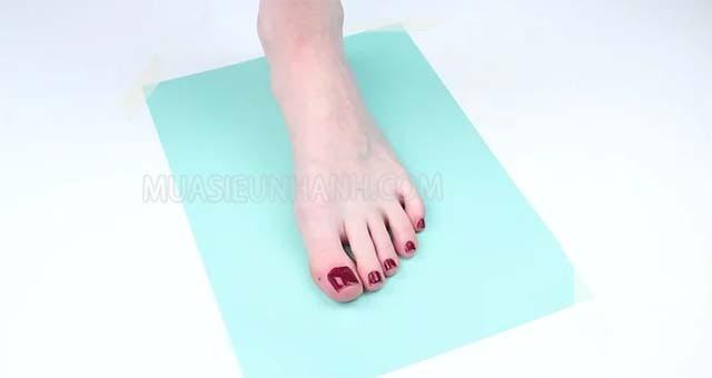 cách đo size bàn chân chuẩn