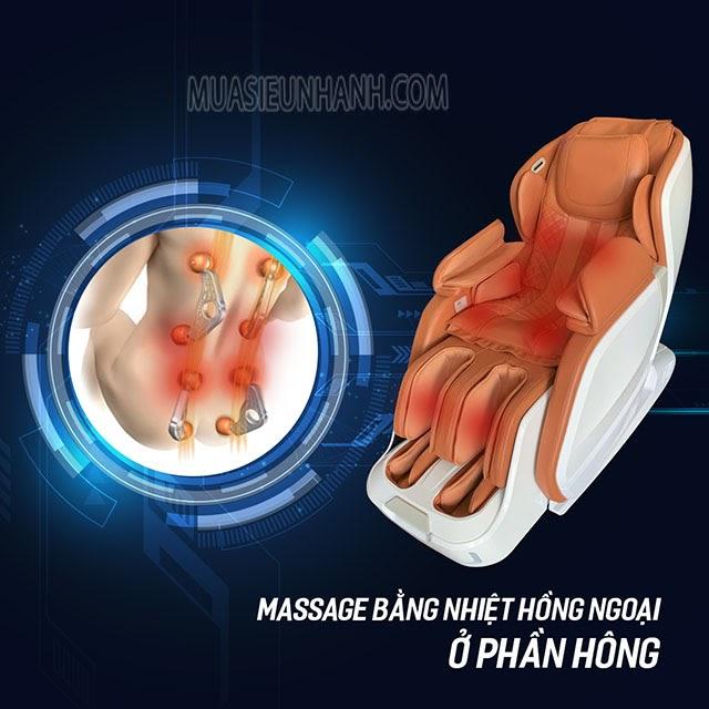 Ghế massage Okazaki JS 501