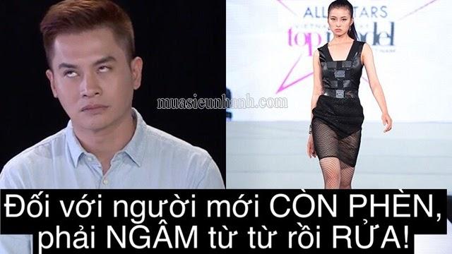 Giám khảo Nam Trung Vietnam's Next Top model là người tạo ra trend phèn