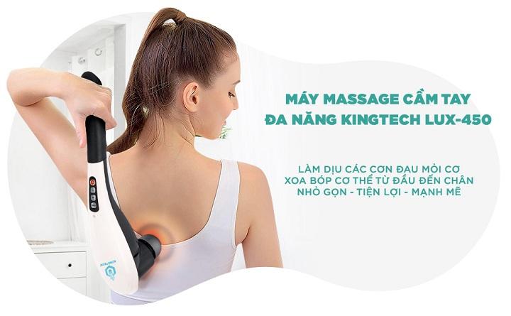 Máy massage cầm tay cao cấp Kingtech LUX-450