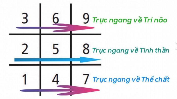 ý nghĩa biểu đồ ngày sinh trong thần số học