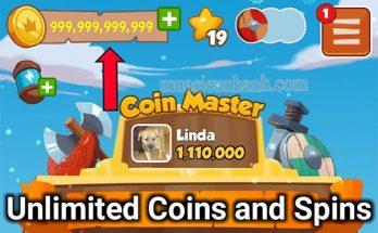 Hack thêm nhiều Spin nhờ Coin Master Mod