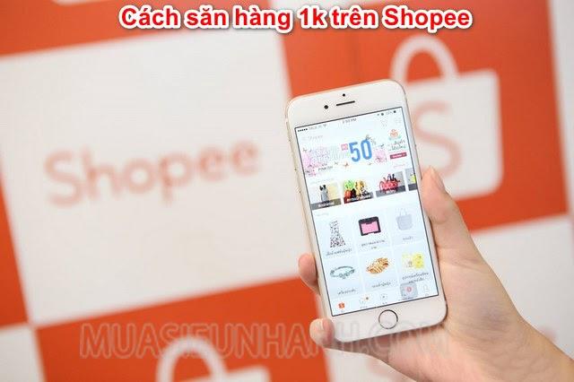 cách mua hàng 1k trên shopee freeship