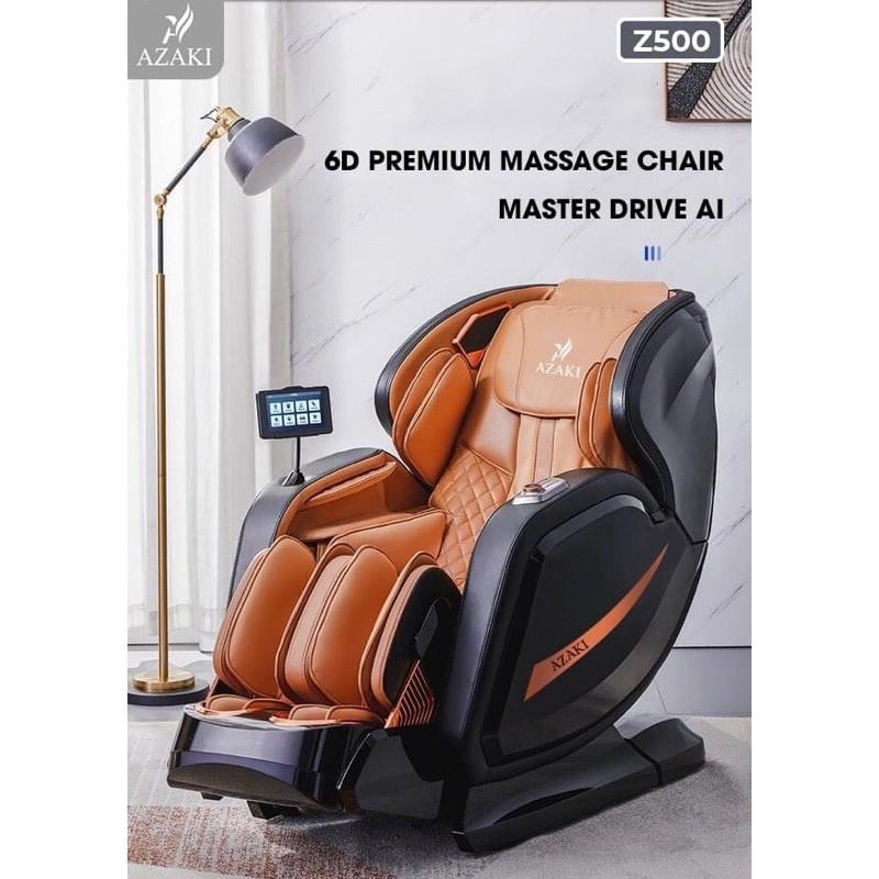 Ghế massage Z500 sử dụng trí tuệ nhân tạo AI 4.0
