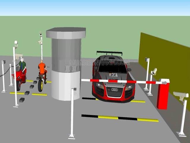 Tình trạng đỗ xe trái phép sẽ được ngăn chặn khi có barrier