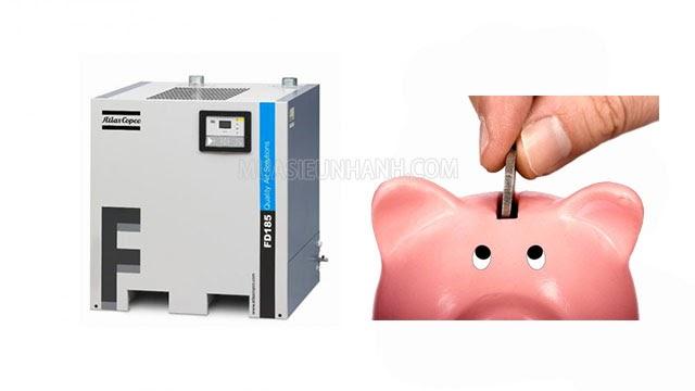 mua máy sấy khí cũ tiết kiệm chi phí