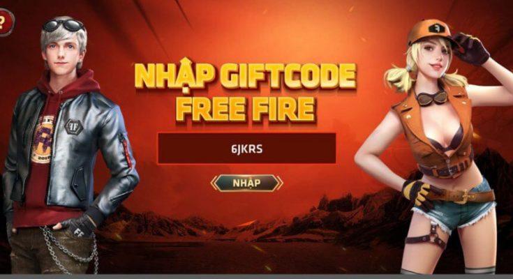 nhập code free fire