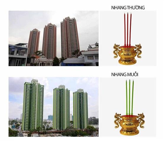 Thuận kiều Plaza cao ốc 3 cây nhang