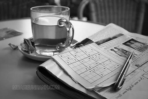 Các ô số Sudoku ở bản gốc