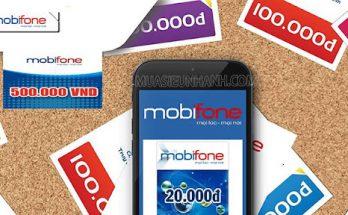 Cách ứng tiền Mobi vào tài khoản chính