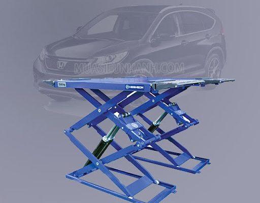 Cầu nâng cắt kéo được nhiều đơn vị lựa chọn