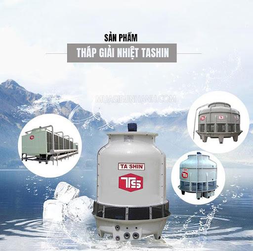 Tháp tản nhiệt Tashin được nhiều người lựa chọn sử dụng