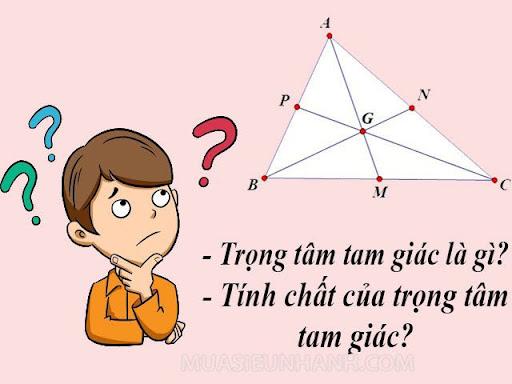 Trọng tâm tam giác là gì